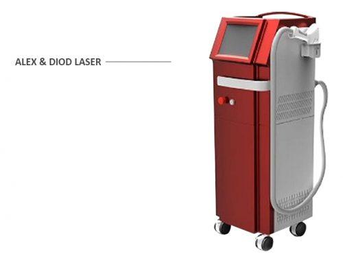 لیزر الکس و دایود مرلین | Merlin Diod Laser